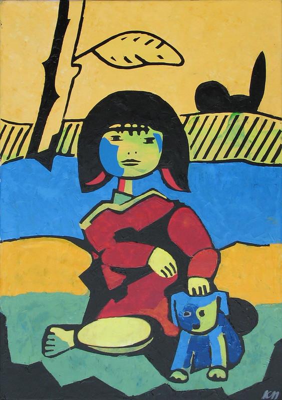 Laila und Blue