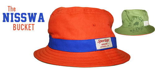 Sportiqe Nisswa Reversable Bucket Hat