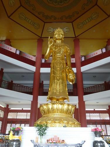 Yunnan13-Dali-3. Salle de cuivre et pluie (4)