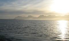 Ozone-laden sea mist