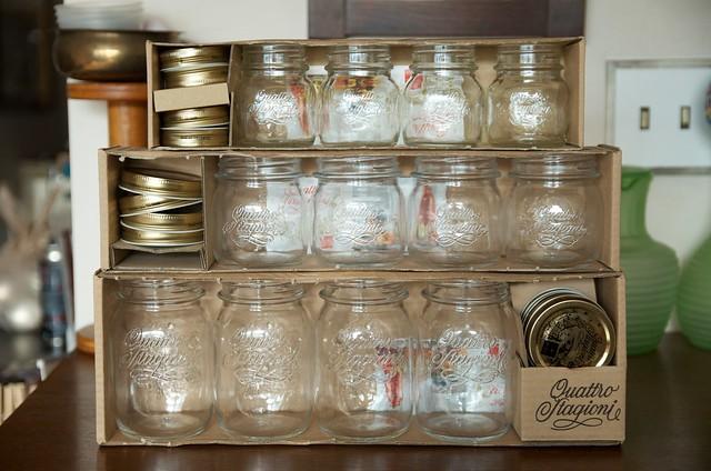 Quattro Stagione jars