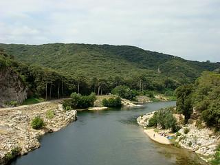 021 Uitzicht bij Pont du Gard