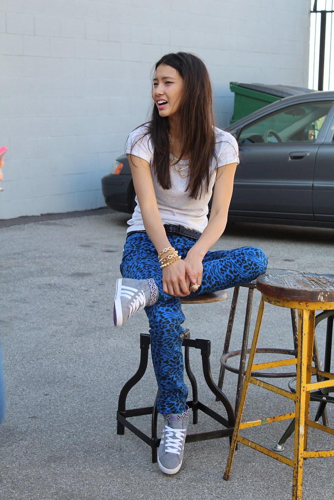 Adidas Neo fall campaign shoot Chloe Blanchard Los Angeles  lisforlois