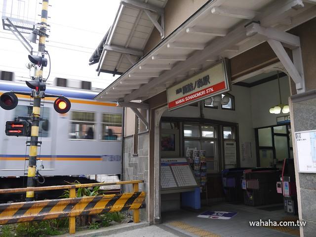 南海電鐵、諏訪ノ森駅