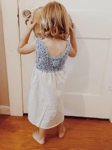 Thrift Store Dress Redo