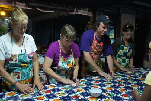 Educators' Journey Making Tortillas