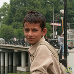Kashmiri Boy in Srinagar, India