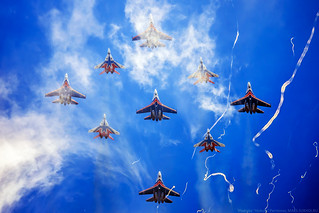 """""""Russian Knights"""" and """"Swifts"""" in acid colors - 3"""