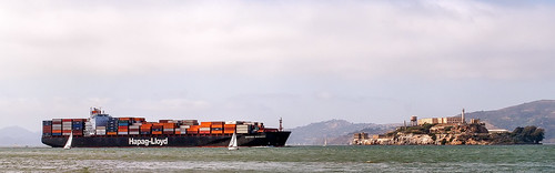 Container Ship vs. Alcatraz by skip.kuebel