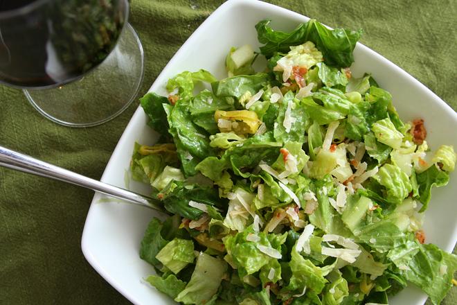 peperoncini pancetta salad 3