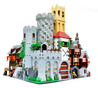 Snugburg - tower corner