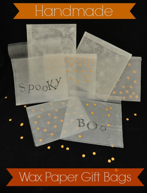 wax paper gift bags