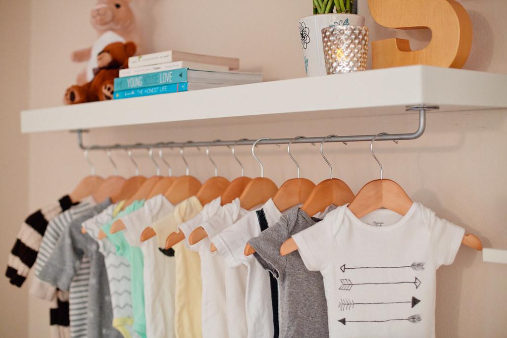 garage organization ideas retail shelving - Home Tour Master Bedroom Nursery Nook Fresh Mommy