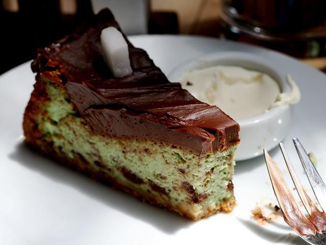 Torta Menta e Nutella Aliena col Bimby