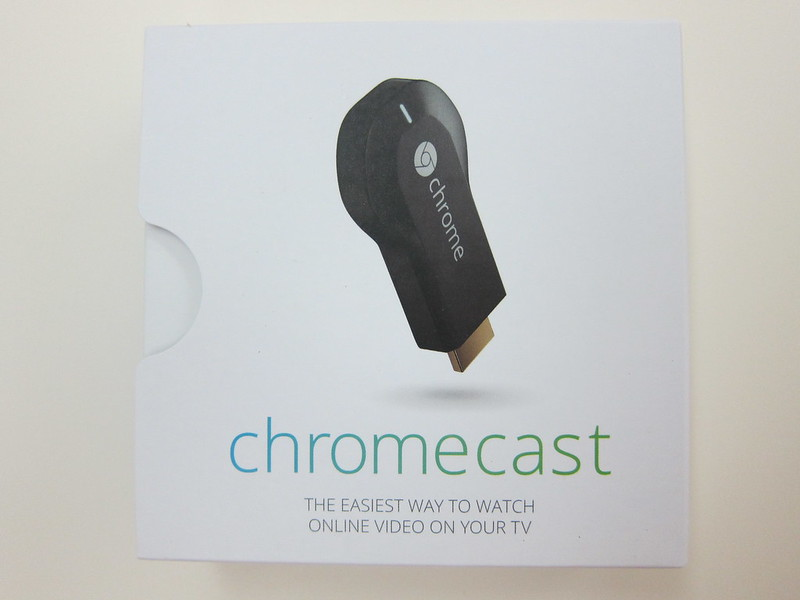 Google Chromecast - Box Front