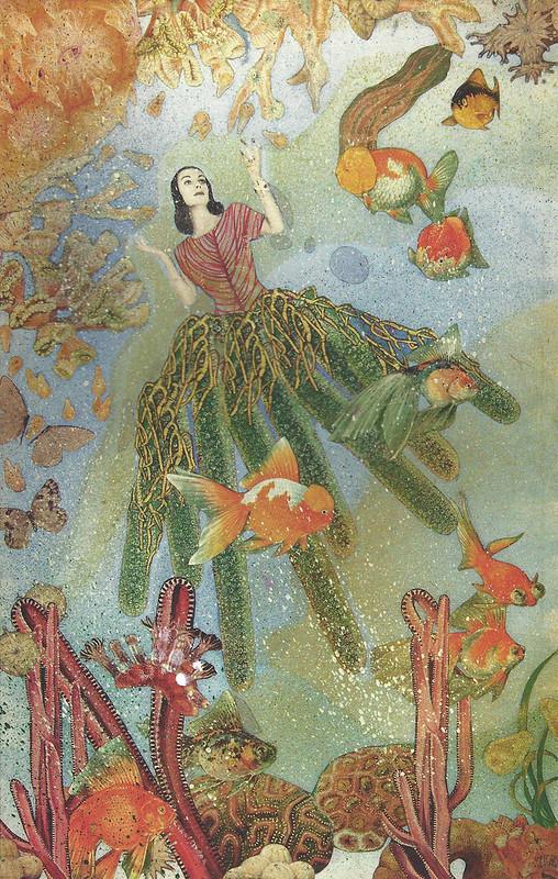 Joseph Cornell, Untitled (Tamara Toumanova), c. 1940 cropped