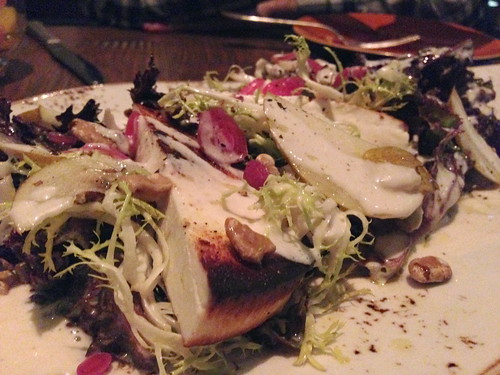 Frog Hollow Pear Salad at the Church Key
