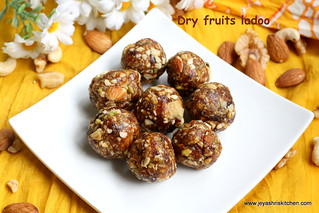 dry fruits ladoo