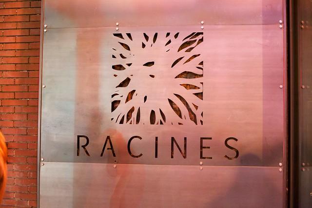 Media dinner at Racines