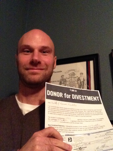 #Donors4Divestment