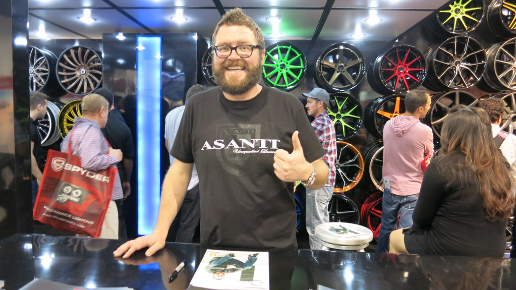 SEMA Show 2013 Day 3 - Rutledge Wood