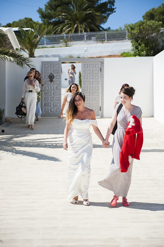Charlie & Rob, real Ibiza wedding