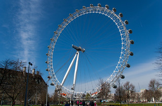 La grande roue London Eye