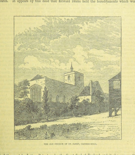 Image taken from page 67 of '[The History of Clerkenwell. ... With additions by the editor, E. J. Wood. Illustrated with ... engravings.]'