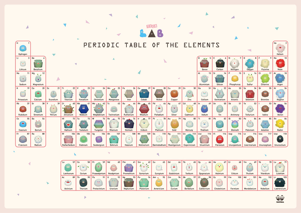 Toca Lab Elements Periodic Table A Photo On Flickriver