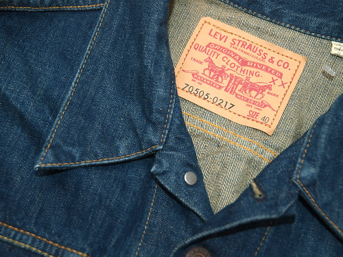 Levi's Vintage Clothing / 70505-0217 1967 Type III Trucker Jacket