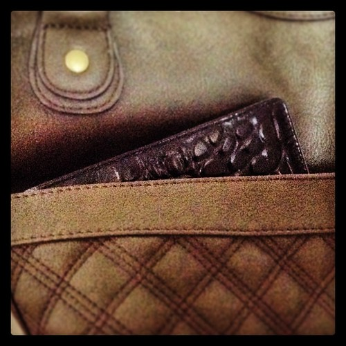 #fflovephotoaday - Day 15: Somewhere. Amazona, peeping out of my #bag. #filofax