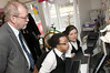 Welsh Government Minister visits iSmooth Community Cafe