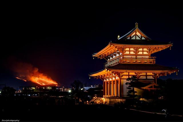若草山 山焼き 2014 #04