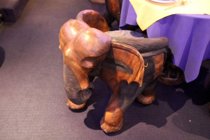 Another elephant chair