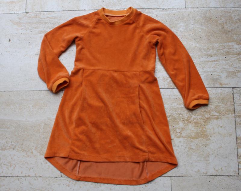De jurk die nog iets miste