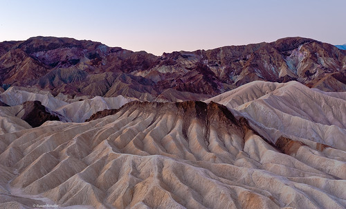 Elevation Map Of Death Valley Ca Usa Topographic Map
