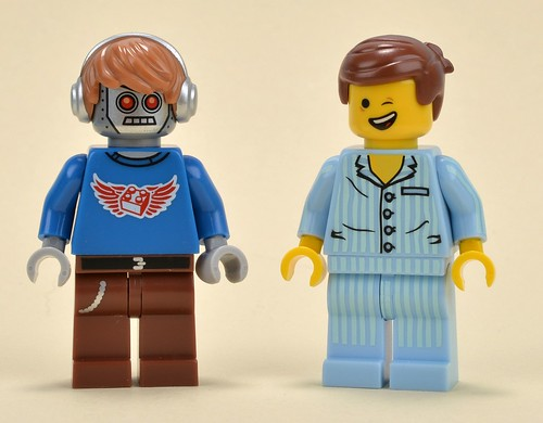 The LEGO Movie polybag minifigs
