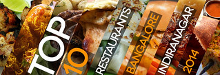 TOP 10 restaurants Indiranagar 2014