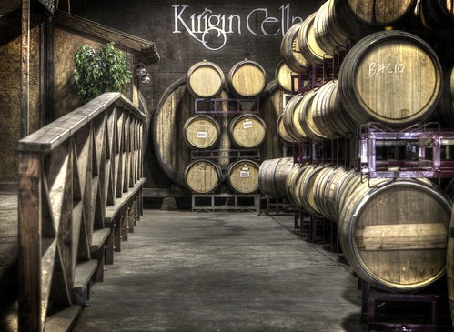 california raw wine fav50 barrels storage winery gilroy aging hdr 3xp photomatix kirigincellars oakbarrels nex6 sel55210