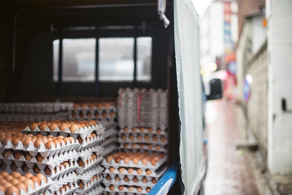 Egg truck