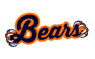 Bear Claws Text Logo