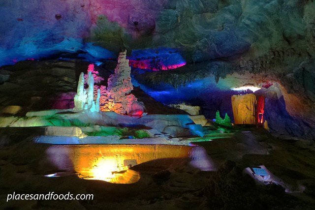 bama crystal cave colourful