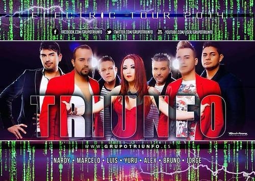 Triunfo 2014 - grupo - cartel