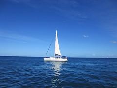 St Lucia sailboat