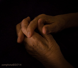 My mother's hands...