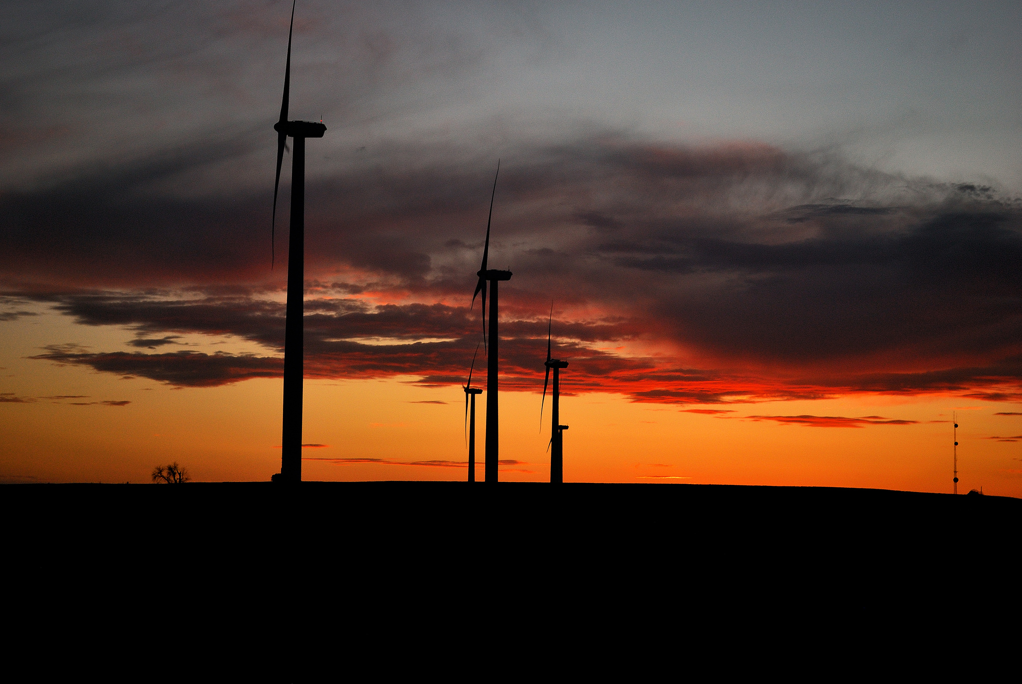 Sunset Turbines