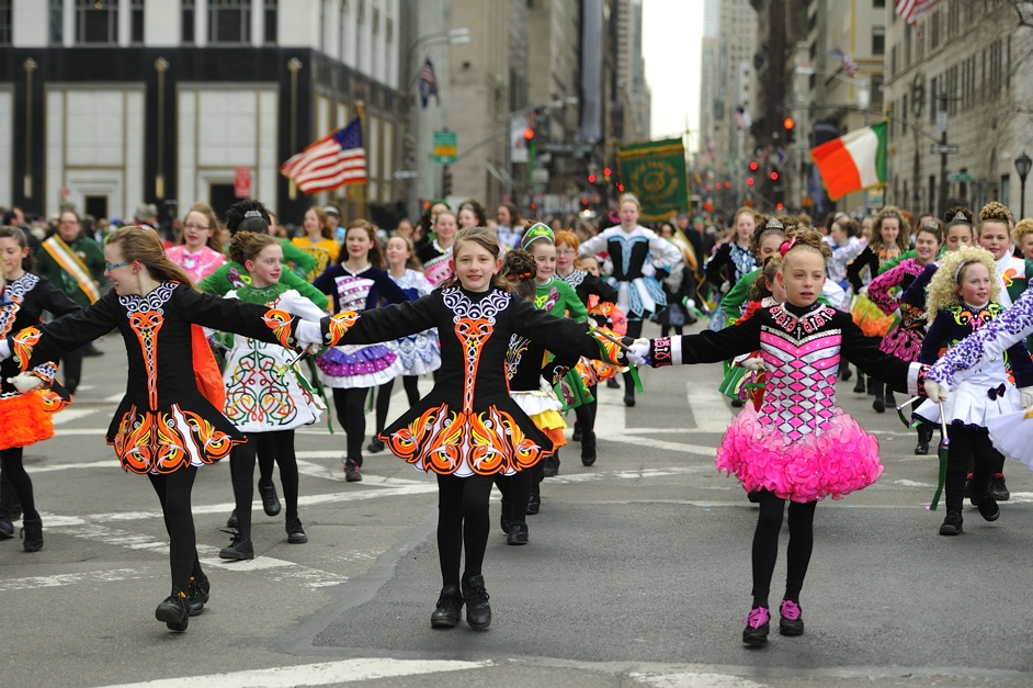 2014 St. Patrick's Day Parade, NYC by Diana Robinson, on Flickr CC