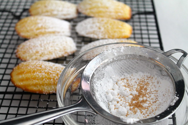 Lemon Madeleines with Lemon Sugar