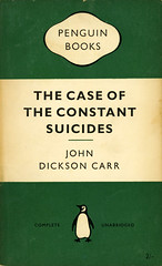 Penguin Books 947 - John Dickson Carr - The Case of the Constant Suicides