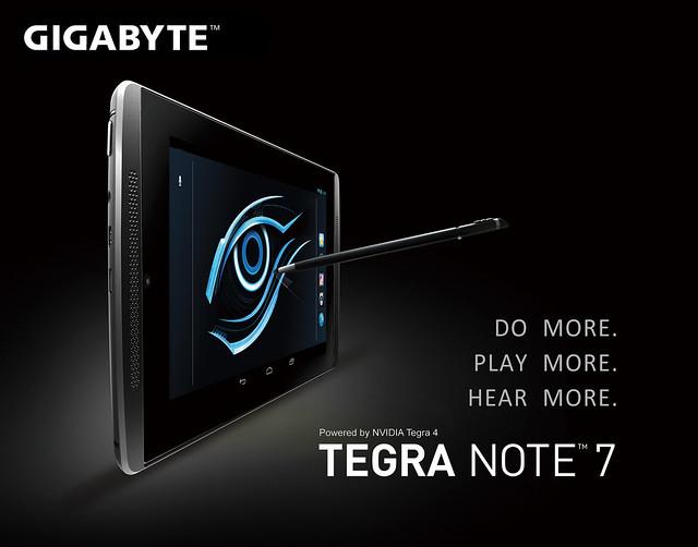 Tegra Note 7 Gigabyte